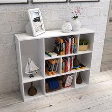 简易书架桌上儿童落地yj7物架特价sh现代简约书柜