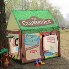 游戏屋yj内(小)帐篷玩sh孩公主房宝宝家用男孩海洋球池