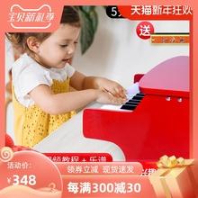 25键ym童钢琴玩具lj子琴可弹奏3岁(小)宝宝婴幼儿音乐早教启蒙