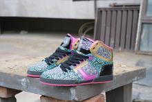 荧光色osiris滑板鞋globeyn14帮糖果cn女街舞鞋DC极限运动dvs