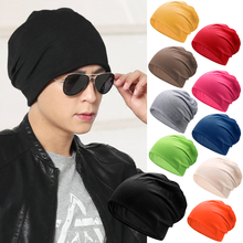 [yonq]糖果色堆堆帽男女春夏薄款