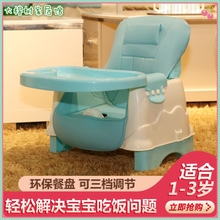 宝宝简yo餐椅便携式bo饭凳宝宝餐椅可折叠婴儿椅子家用餐桌椅