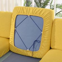 沙发套罩全包简约海绵坐垫yo9罩靠背四bo麻防滑沙发笠套定做