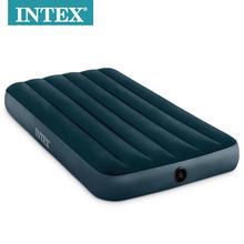 包邮原yo正品INTuo华线拉植绒单的双的气垫床野营加厚