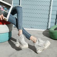 内增高女鞋12cm运动休