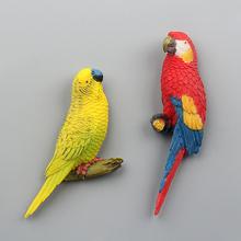 外贸出口原单yo款乡村鹦鹉rf贴儿童早教动物贴留言贴