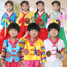 宝宝韩yo六一宝宝男rm族演出服大长今舞蹈服韩国民族传统服饰