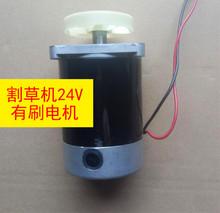 电机配yp(小)型充电式wj电动除草机便携式家用打草机24V48V60V