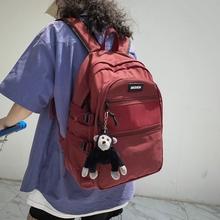 日系1yq.6寸电脑bqulzzang初高中大学生大容量防水男女生背包