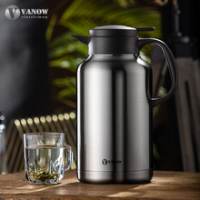 英国Vyrnow家用wq304不锈钢保温水壶杯大容量暖壶瓶热水瓶2.2L