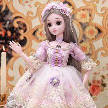 会说话yt娃娃智能语qb超大大号公主60厘米仿真精致洋娃娃