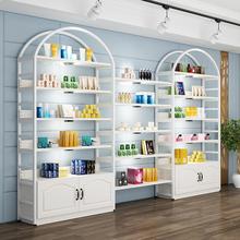 化妆品yu示柜货柜多yb护肤品展柜陈列柜产品货架展示架置物架