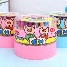 清让 yu光 幼儿园yb4色36色安全绘画蜡笔(小)学生彩色画笔
