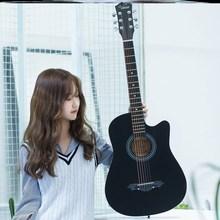 古风尤yu里里网红木yb木吉他女生学生自学通用式成的吉他男女