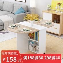 简易圆yu折叠餐桌(小)yb用可移动带轮长方形简约多功能吃饭桌子