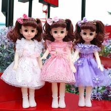 会说话yu芭(小)比娃婴iu具智能仿真洋娃娃套装(小)女孩公主超大布