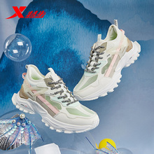 特步女yu跑步鞋20ye季新式断码气垫鞋女减震跑鞋休闲鞋子运动鞋