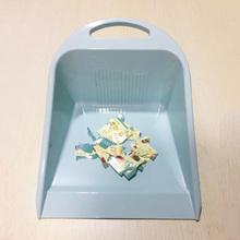 塑料家yu(小)号手提 bi加厚畚箕箕斗 (小)号垃圾铲贴地清洁