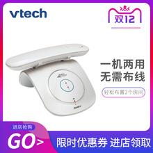 伟易达yu033固定ai字无绳电话单机办公无线座机创意欧式子母机