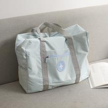 旅行包yu提包韩款短ai拉杆待产包大容量便携行李袋健身包男女