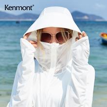卡蒙遮yu冰丝长袖连xl薄透气面罩开车防紫外线防晒神器