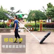 。宝宝yv球架成的可de动篮球框户外青少年幼儿园训练投篮