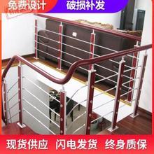家用楼yv扶手栏杆阳de别墅围栏PVC欧式护栏靠墙北欧玻璃阁楼
