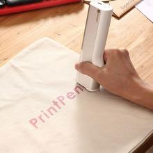 智能手yx彩色打印机qs线(小)型便携logo纹身喷墨一体机复印神器