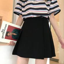 微胖女yy0穿搭大码jq合胖的的裙子洋气胖妹妹mm高腰a字短裙