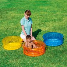 原装正yzBestwba儿戏水池充气海洋球池宝宝游泳池加厚浴盆沙池