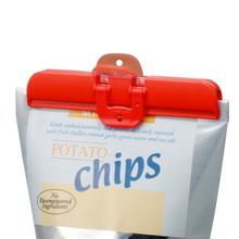 日本零yz食品保鲜夹ke器塑料厨房大号食物包装袋子防潮封口夹