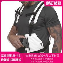202yz新式男士马ke训练服户外夜光防护装备肌肉多功能战术背心