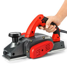 手提电yz电刨子家用zi木工刨压刨机砧板菜板