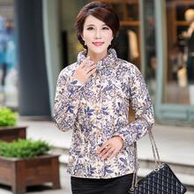 冬款中年女装立领羽绒棉服内胆韩版