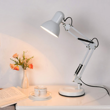 创意护za台灯学生学ng工作台灯折叠床头灯卧室书房LED护眼灯