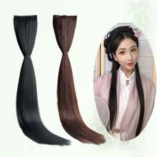 利格不za打结升级款ng排古装假发汉服发型造型女古风发片发包