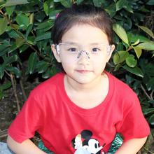 宝宝护za镜防风镜护ta沙骑行户外运动实验抗冲击(小)孩防护眼镜