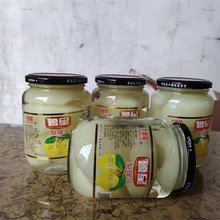 雪新鲜zb果梨子冰糖fk0克*4瓶大容量玻璃瓶包邮