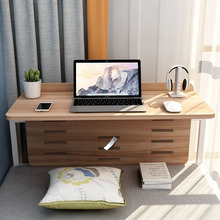 寝室折zb桌子床上宿xg上铺神器女生好物(小)书桌大学生悬空书桌