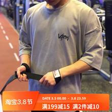 肌肉队zc健身衣服男kg松透气短袖T恤运动兄弟休闲跑步训练服