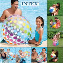 玩具充zd球沙滩球儿ic游泳水球塑料球水上(小)孩戏水彩色草坪球