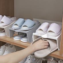 双层鞋zf一体式鞋盒tw舍神器省空间鞋柜置物架鞋子收纳架