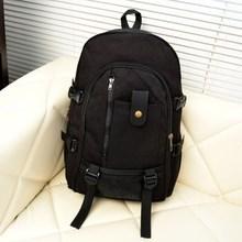 男士后zg包包旅行李yw休闲男土用青年帆布装衣服的旅游双肩。