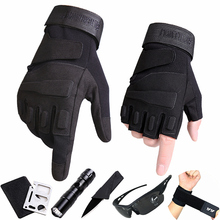 [zgcrw]健身半指手套男秋冬季特种