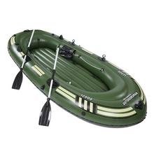 气垫船zg船加厚救援kh2/3/4的像皮艇救生便携折叠充气舟单的