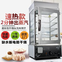 蒸馒头zg子机蒸箱蒸lr蒸包柜玉米粽子保温柜饮料加热柜展示柜