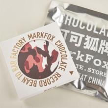 可可狐zg新款奶盐摩rj黑巧克力 零食巧克力礼盒 单片/盒 包邮