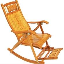 竹椅子竹摇椅折zg椅躺椅1午yy户外摇椅沙发椅午睡椅夏凉