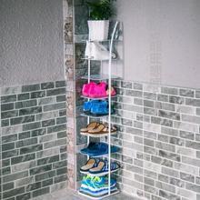 家用拼zg宿舍迷你鞋wq形多层立式客厅门口门厅简易单排窄鞋