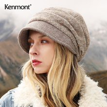 卡蒙时zh韩款水钻英ai帽女冬天百搭加绒毛线针织帽可爱堆堆帽